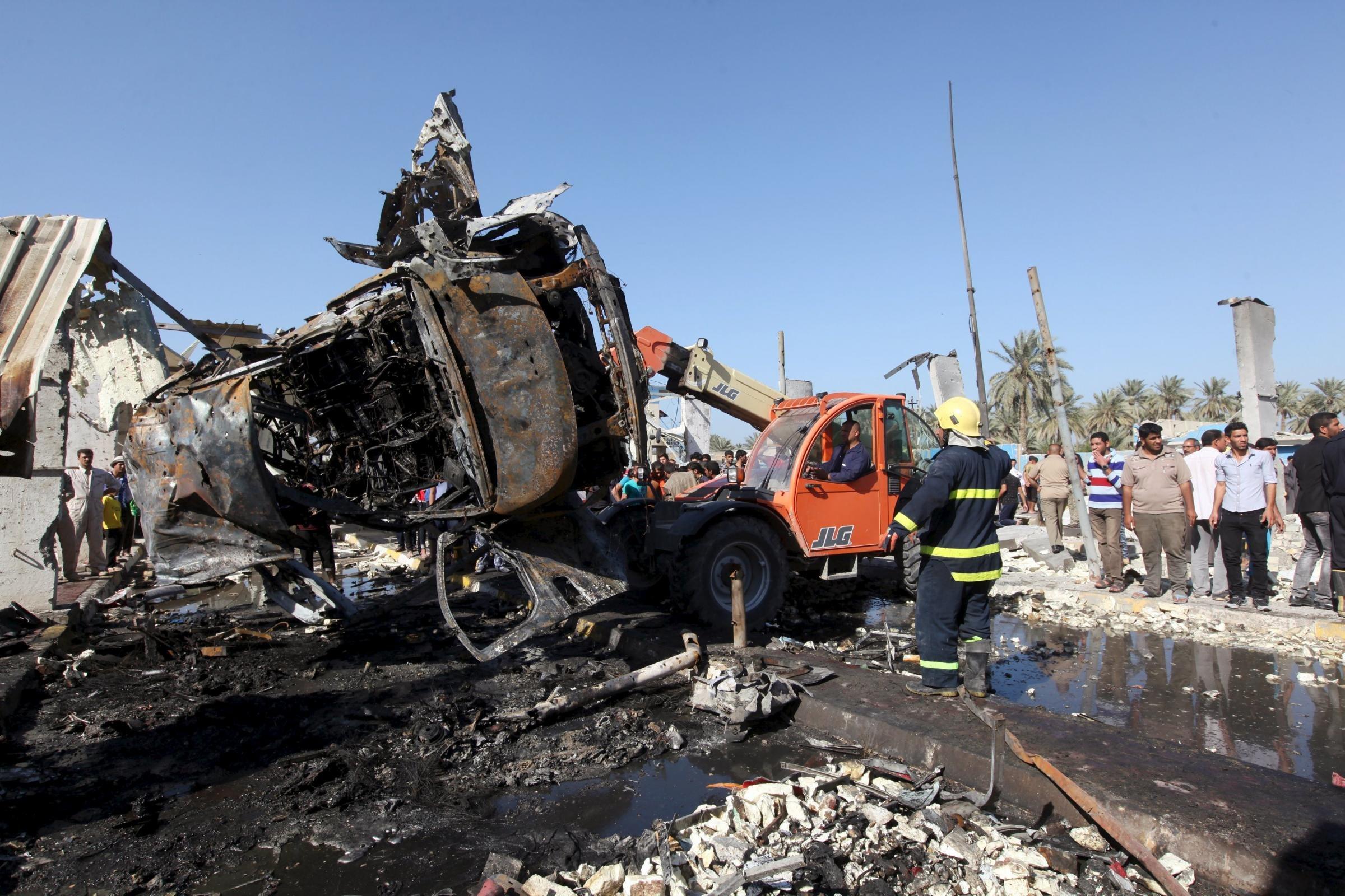 Hillah: uomo si lancia con un camion bomba contro posto di blocco