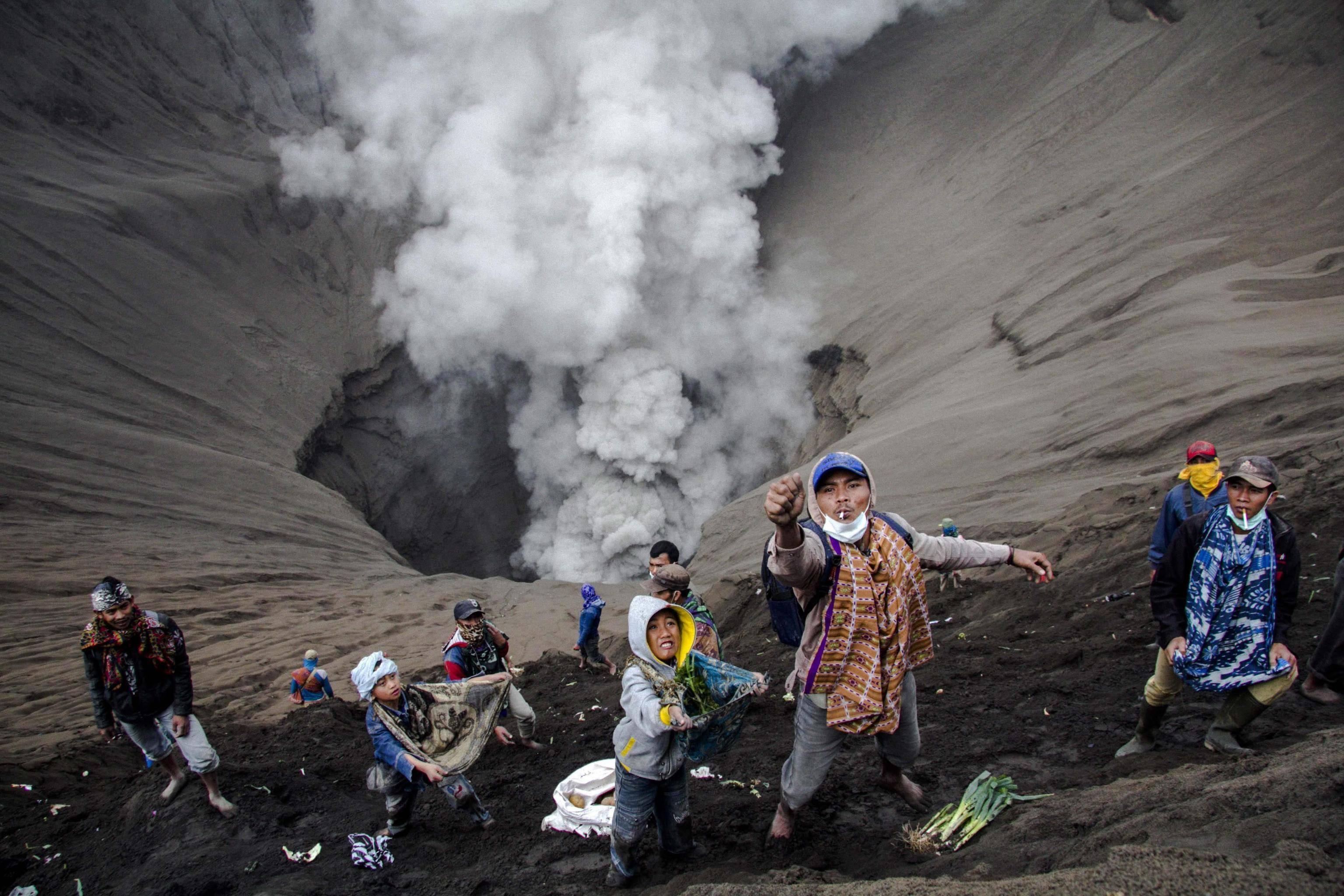 In bocca al vulcano