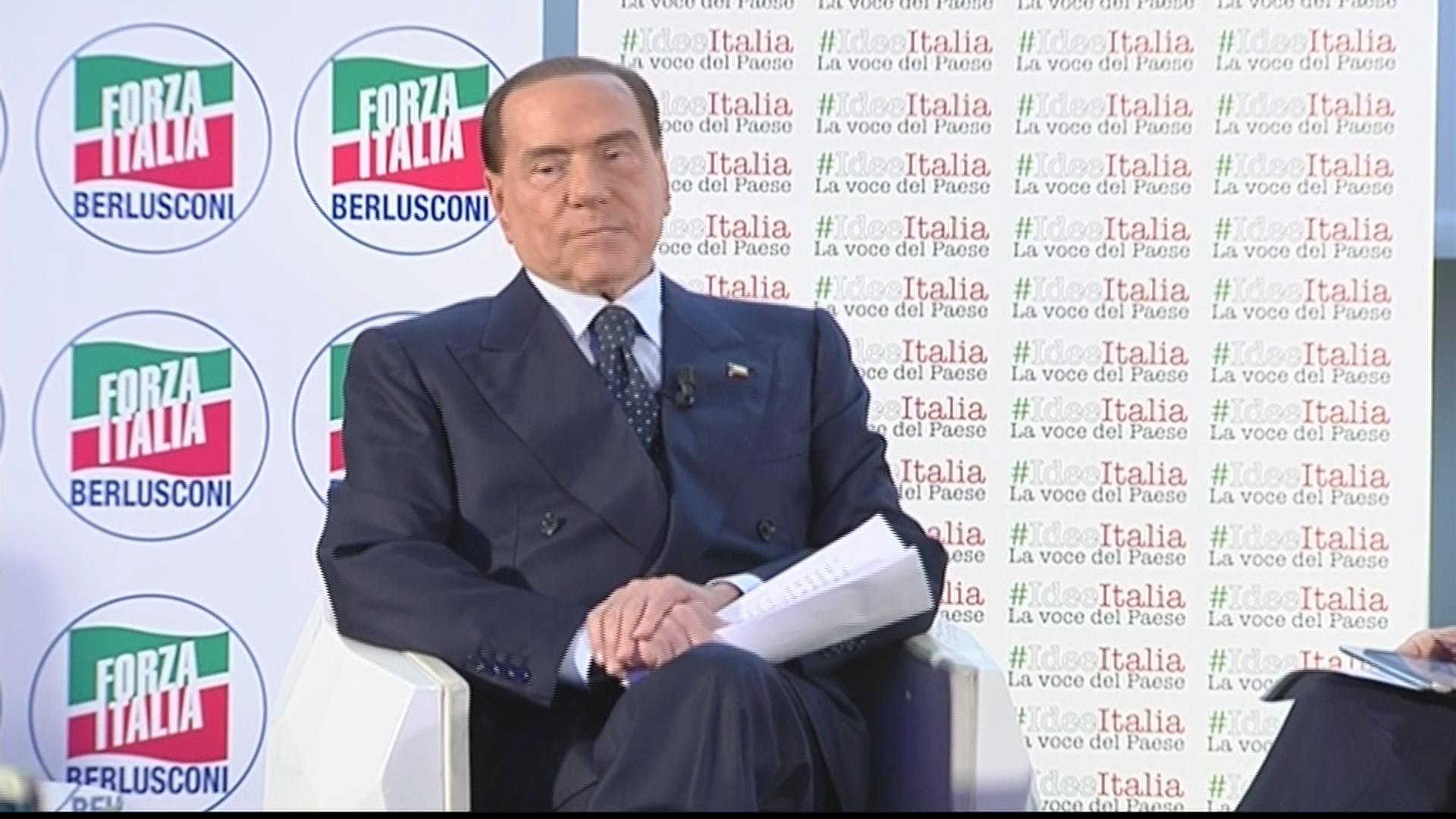 Berlusconi devo scendere in campo c 39 un grande pericolo quello dei grillini video rai news - Patrimoniale sulla casa ...
