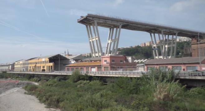 Genova, in un video le oscillazioni di Ponte Morandi settimane prima del crollo – Video – Rai News